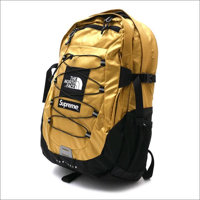 シュプリーム SUPREME x THE NORTH FACE ザ・ノースフェイス Metallic Borealis Backpack バックパック GOLD 276000285018 【新品】