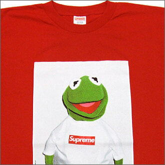 シュプリーム Supreme Kermit The Frog T Shirt Red