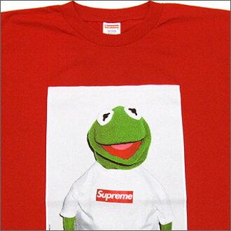 シュプリーム Supreme Kermit The Frog T Shirt Red