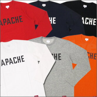 SUPREME(shupurimu)APACHE Athletic长袖子T恤202-000340-068-[☆★]