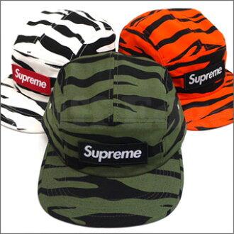 SUPREME (shupurimu) Zebra Camp Cap 265-000142-015 365 - 000010 - 010x [☆ ★]