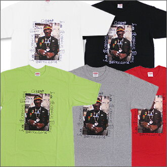 SUPREME(shupurimu)Lee Scratch Perry Photo T恤200-002898-040+[☆★]