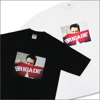 SUPREME (shupurimu) 200-003085-040 Brigade T shirt x The Clash ( clash's Paul ) +