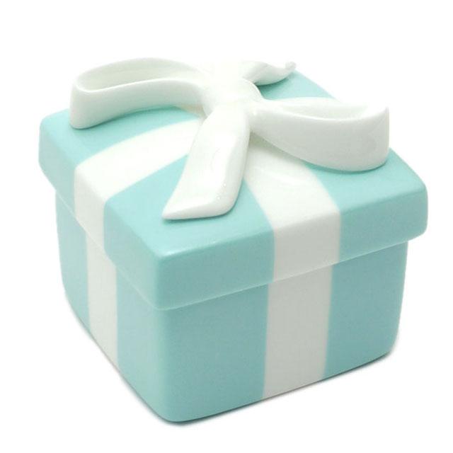 ティファニー TIFFANY&CO. ボウボックス 【新品】 BLUE 274000339014 結婚祝い お祝い プレゼント バレンタイン お皿 食器 グラス 陶器 ギフト【あす楽対応】