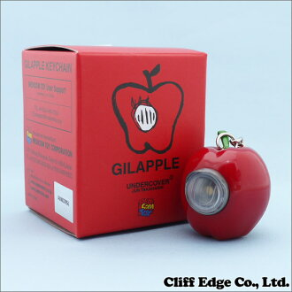 UNDERCOVER GILAPPLE LIGHT KEYCHAIN (Keychain) RED 278 - 000394 - 013x