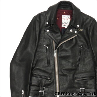 UNDERCOVER x LEWIS LEATHERS (1960) 230-000945-701 BLACK LIGHTNING FF (jacket) +
