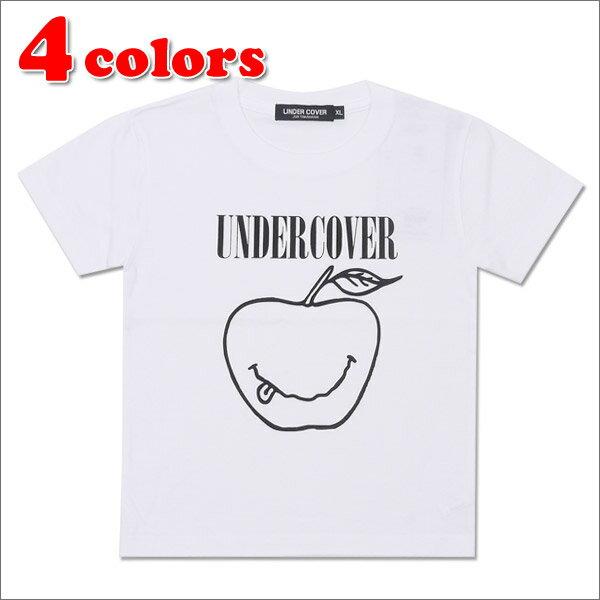 【Kid's/キッズサイズ】 UNDERCOVER (アンダーカバー) SMILE APPLE KIDS TEE (Tシャツ) 200-006846-061x【新品】