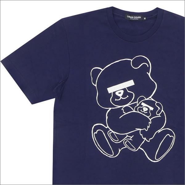アンダーカバー UNDERCOVER NEU BEAR Tシャツ NAVY 200004825049 【新品】