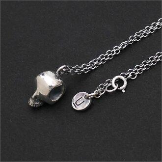 UNDERCOVER(下面覆盖物)Skull Necklace(项链)SILVER 267-000203-012x