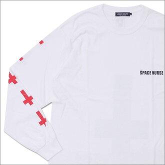 UNDERCOVER(下面覆盖物)THE SPACE NURSE L/S TEE(长袖子T恤)WHITE 202-000868-050x