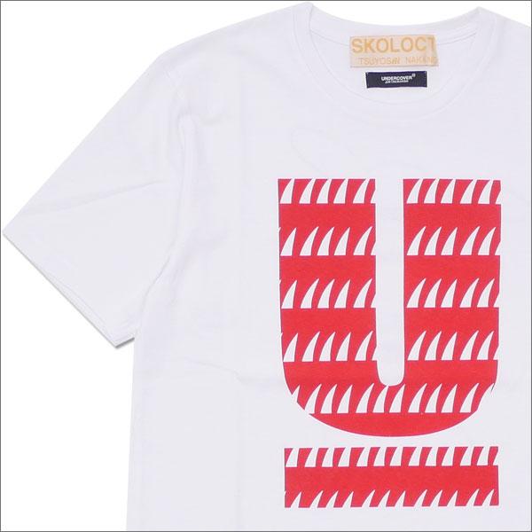 UNDERCOVER(アンダーカバー) x SKOLOCT(スコロクト) SKO U TEE (Tシャツ) WHITE 200-007664-520x【新品】