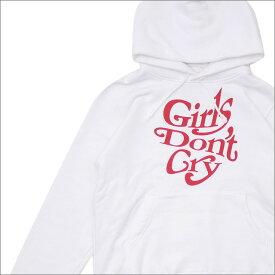 アンダーカバー UNDERCOVER x VERDY ヴェルディ GIRLS DON'T CRY HOODIE パーカー WHITE 417000042510 【新品】 Girls Don't Cry ガールズドントクライ WASTED YOUTH ウェイステッド ユース