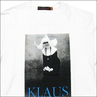 UNDERCOVER (under cover) KLAUS T shirt WHITE