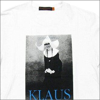 UNDERCOVER(下面覆盖物)KLAUS T恤WHITE