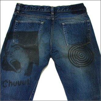 UNDERCOVER (under cover) printed denim CHUUUT
