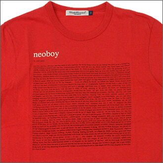 UNDERCOVER (under cover) NEOBOY T shirt 200-001995-520