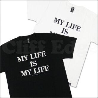 40%反对权利 (对利兹的 40%) W 水龙头 daburutappusu 我的生活是我人生 T 恤 200-004229-040-
