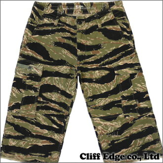 (W) TAPS JUNGLE CHOPPED shorts TIGER STRIPE 244-000395-049-344-000026-045