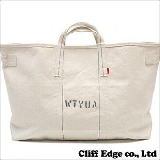 (W) TAPS x RAREGEM TOTE BAG.  M BAG. OFF WHITE 277-001852-010-