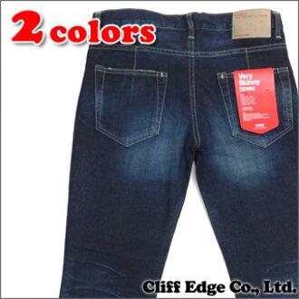 WTAPS (双轻拍) 蓝调。非常瘦。垃圾的裤子。 棉花。牛仔布。垃圾 (牛仔) 240-001276-000 x
