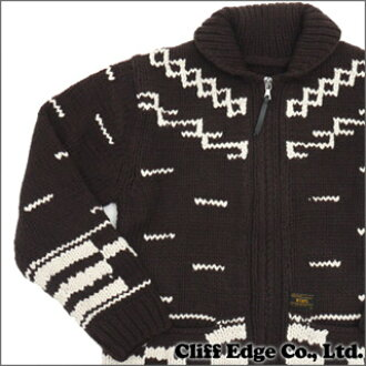 8ec63f0fc3a WTAPS (double taps) COWICHAN SWEATER. 231-000274-000 BROWN WOOL (Cowichan  knits) (jacket)-