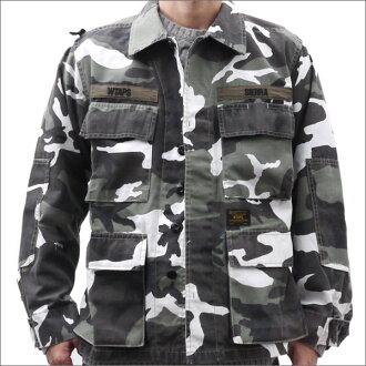 WTAPS JUNGLE LS 02 / SHIRT. COPO... TWILL. URBAN CAMO (jungle shirt) (shirt) (jacket) URBAN CAMO 216-001400-049-
