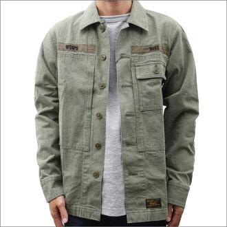 WTAPS daburutappusu HBT LS 01 衬衫 (长袖) OD 216-001419-035 x