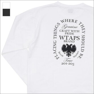WTAPS DESIGN LS HERALDRY/TEE.COTTON.LOOPWHEEL (long sleeves T-shirt) 171ATDT-CSM07 202-000847-031-