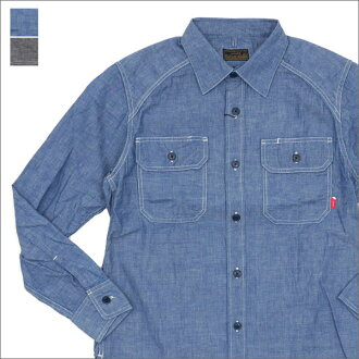 WTAPS(双发快射)CELL LS/SHIRT.COTTON.CHAMBRAY(长袖子衬衫)171TQDT-SHM02 216-001466-041-