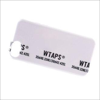 WTAPS (다브르탑스) BUMPER 01 iPhone 6&6 S&7&8 CASE (아이폰 케이스) 181 OTDT-AC01S WHITE 273-000125-010+