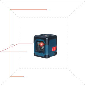 メーカー1年保証(傾斜機能)(防塵防水落下抵抗 ) レーザー墨出し器 超ミニ 1V1H クリップ状金属製固定用クリップ付き高輝度 レーザーレベル 墨出器 測定器 測量水平器 自動補正 LV-1