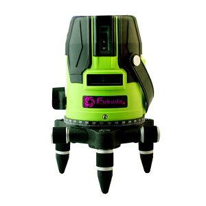 メーカー1年保証グリーン墨出し器 緑光 レーザー 墨出し器 「高強光 高品質」緑光 高級発光管 耐低温 【福田 フクダ FUKUDA EK-468 EK-400 GJ上位機種】墨つぼ 墨だし高輝度 高精度 水平/垂直 光学