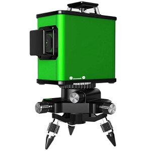 メーカー1年保証送料無料 3D-Fullフルライン 12ライングリーン レーザー 墨出し器傾斜機能屋外モード高輝度 耐衝撃防塵防滴HC-3D GREEN ミニ三脚付 壁スタンド付