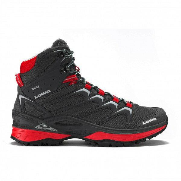 ローバー イノックス GTX Mid (Graphite / Red)★登山靴・靴・登山・アウトドアシューズ・山歩き★