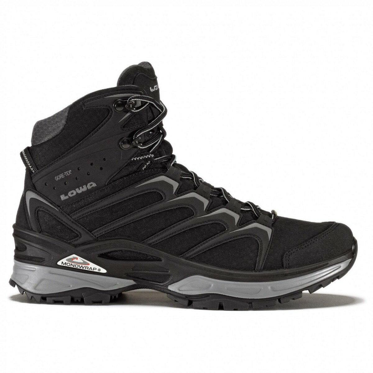 ローバー イノックス GTX Mid (Black / Gray)★登山靴・靴・登山・アウトドアシューズ・山歩き★
