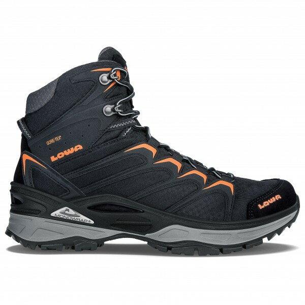 ローバー イノックス GTX Mid (Schwarz/Orange)★登山靴・靴・登山・アウトドアシューズ・山歩き★