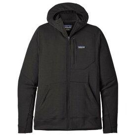 パタゴニア R1 Full-Zip フーディ フリースジャケット メンズ ( Black )
