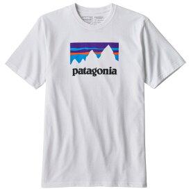 【即納】パタゴニア ショップ ステッカー レスポンシビリティー Tシャツ(White)