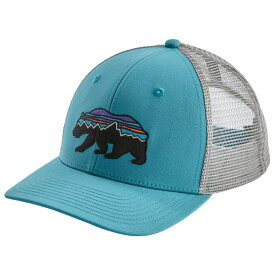 パタゴニア Fitz Roy Bear Trucker Hat キャップ(Mako Blue)