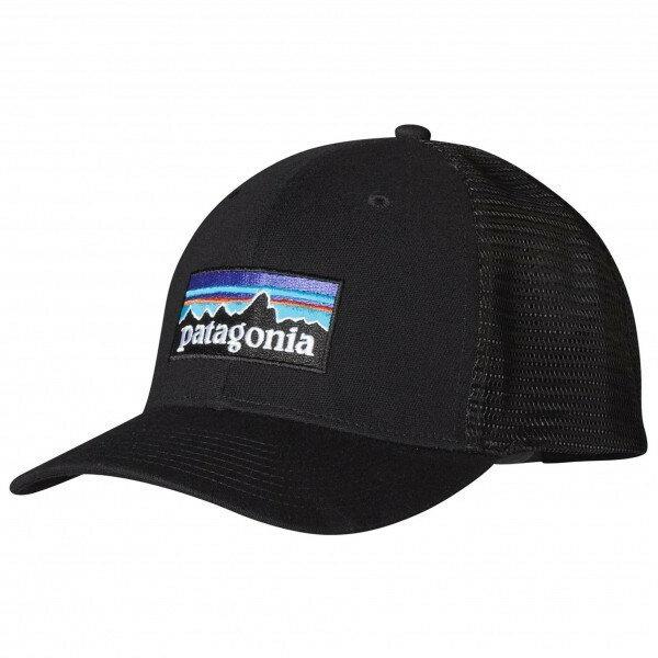パタゴニア P6 Trucker Hat キャップ(Black)