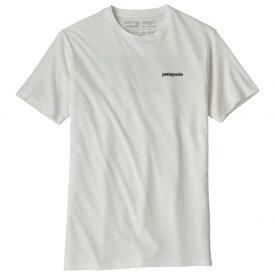【即納】パタゴニア P-6 Logo Organic Tシャツ(White)