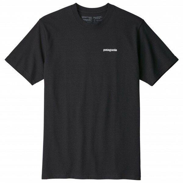 パタゴニア P-6 Logo Responsibili-Tee Tシャツ(Black)