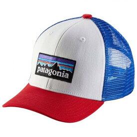 パタゴニア Trucker Hat キッズ キャップ(P / 6 Logo: White)
