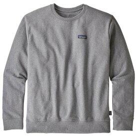 【 即納 】 パタゴニア P-6 ラベル アップライザル クルー スウェットシャツ ( Gravel Heather )