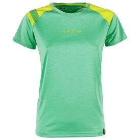 スポルティバ TX Top Tシャツ レディース (Jade Green / Apple Green)