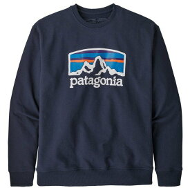 パタゴニア Fitz Roy Horizons Uprisal Crew Sweatshirt トレーナー メンズ ( Classic Navy )