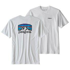 【 即納 】 パタゴニア Fitz Roy Horizons Responsibili Tee Tシャツ ( White )