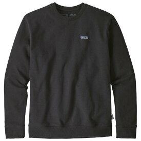 パタゴニア P-6 Label Uprisal Crew Sweatshirt トレーナー メンズ ( Black )