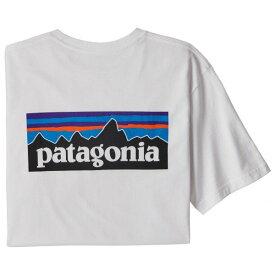 パタゴニア ◆ メンズ P-6ロゴ レスポンシビリティー Tシャツ ( White )