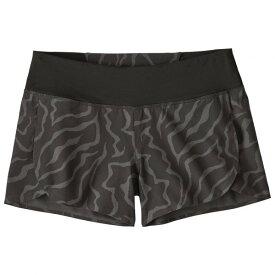 パタゴニア ◆ Stretch Hydropeak Surf Shorts レディース(Tiger Tracks Camo Small / Ink Black)
